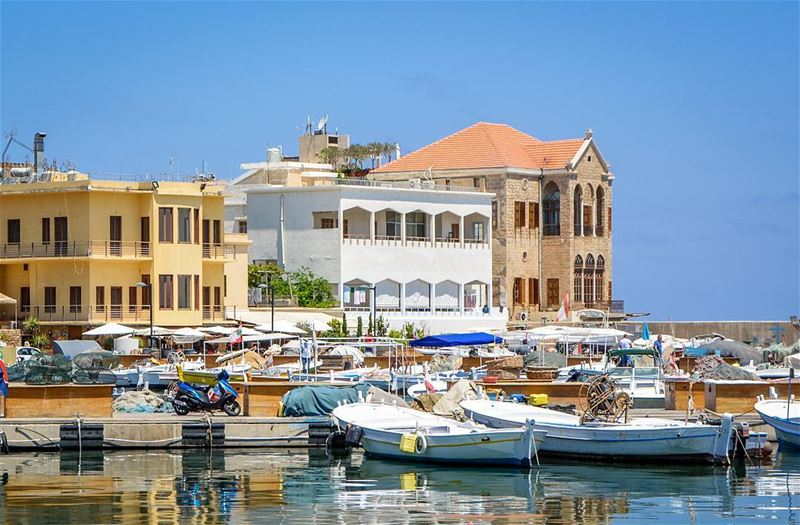 .Tyre - The port | One of the most beautiful traditional cities in... (Tyre, Lebanon)